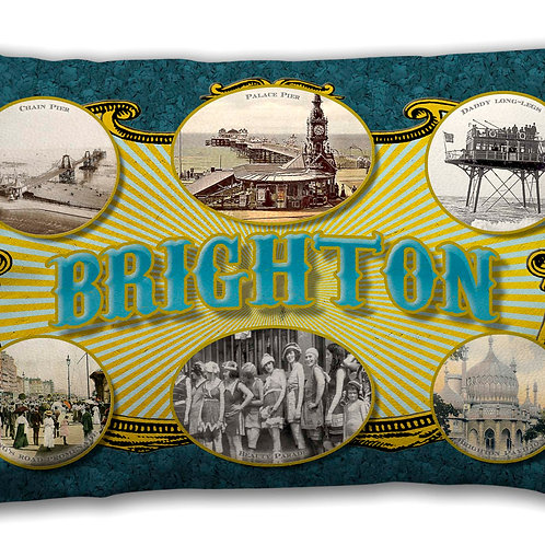 Brighton Ad - Oblong Cushion