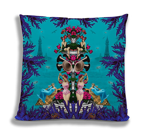 Cushion Cover:  The Pool