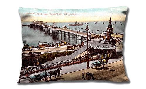Brighton Palace Pier & Aquarium - Cushion
