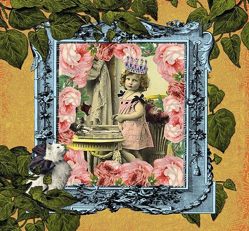 """Card SV21 """"Princess andthe Cat"""""""