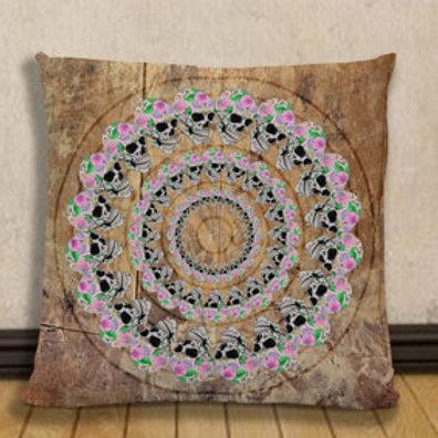 Cushion: Skull circle