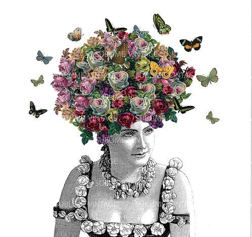 """Card SV02 """"Butterfly Hair"""""""