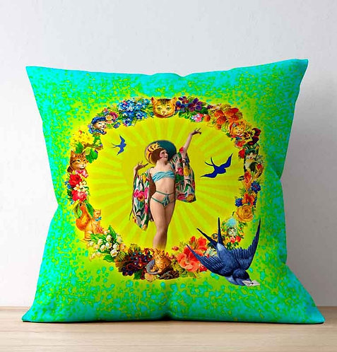 Cushion Cover - Mexican Love Letter