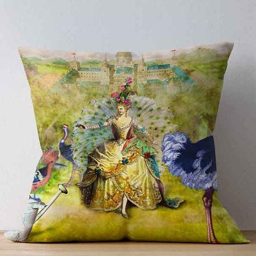 Cushion cover - Georgian Lady