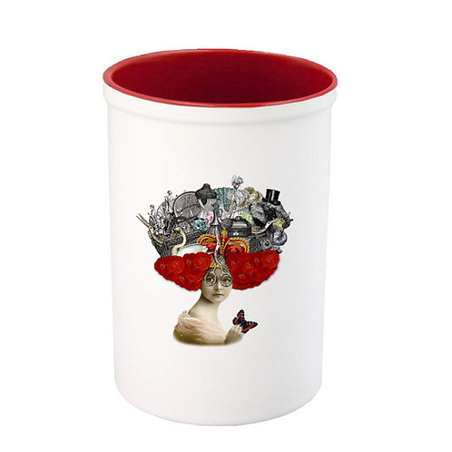 "Ceramic Pot ""Things on my Mind"""
