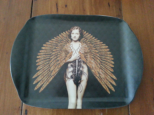 Small Tray - Golden Wings