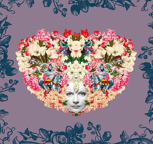 "Card SV16  ""Cirsus Flower Hair"""