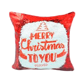 PERSONALISED SEQUIN CUSHION