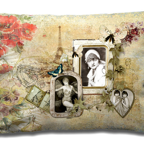 Cushion - Paris Photo Frame
