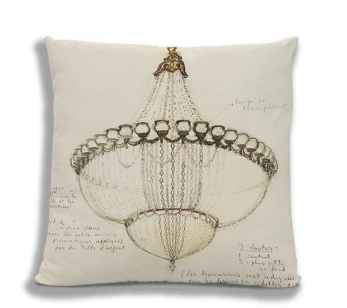 Cushion - Chandelier Sketch