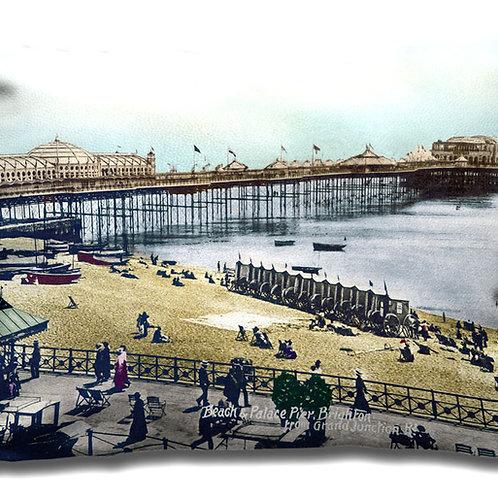 Brighton Palace Pier & Seafront - Cushion