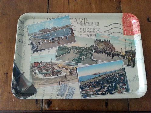 Large Try - Brighton Postcard
