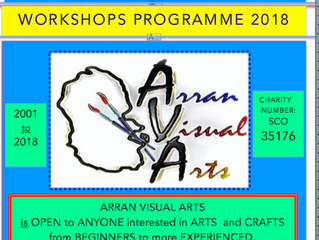 Arran Visual Arts Programme 2018