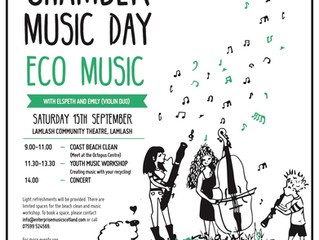 National Chamber Music Day on Arran