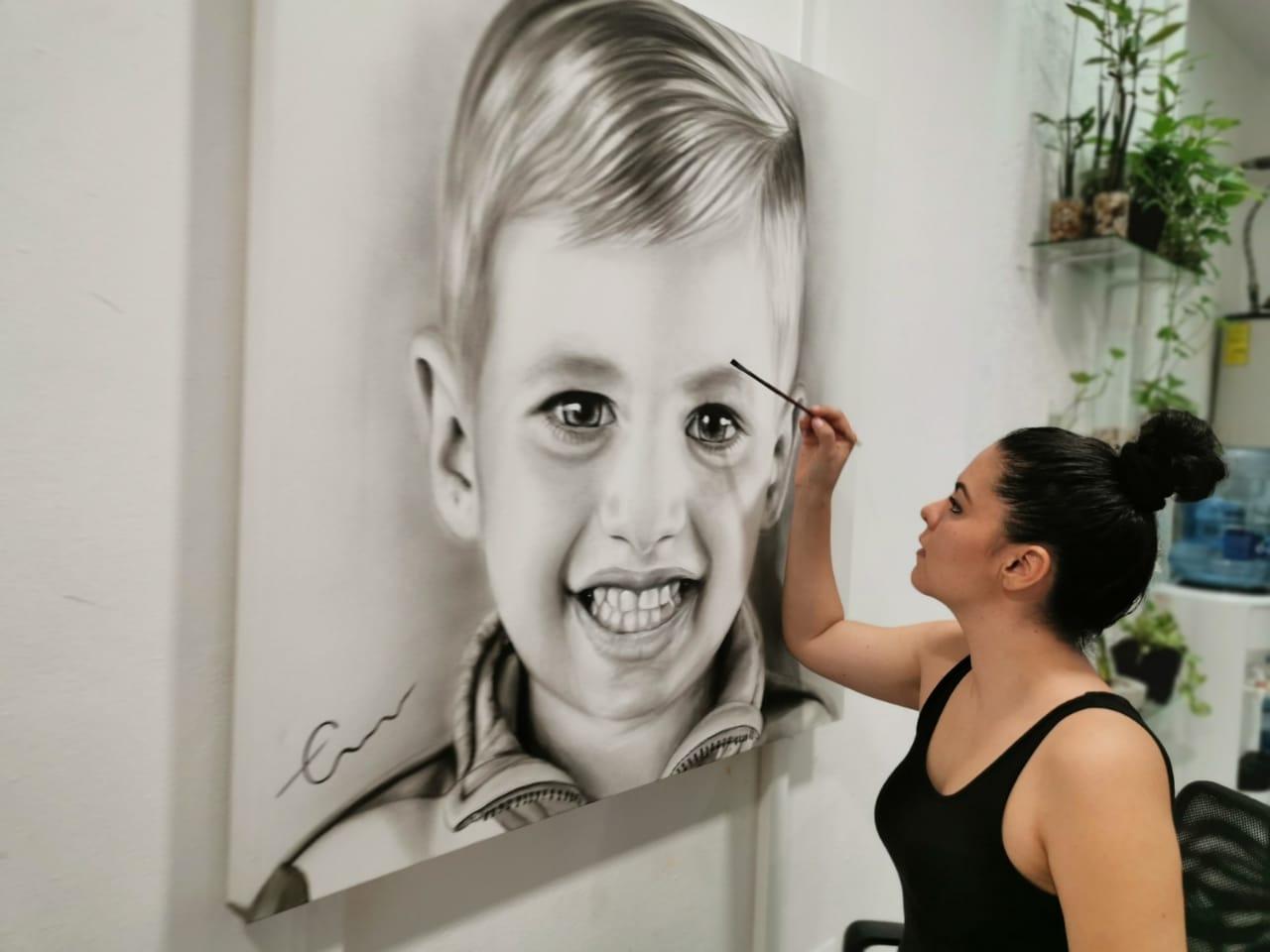 Retrato B&N by Edith Martinez