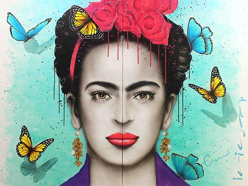 Frida entre Mariposas