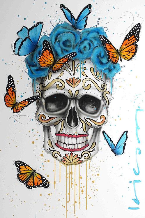 Skull Catrina Gold