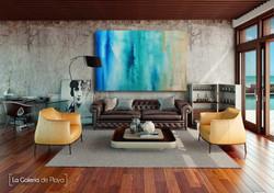 Caribe Abstracto by Edith Martinez