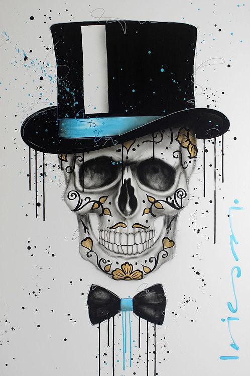 Skull Catrin Gold