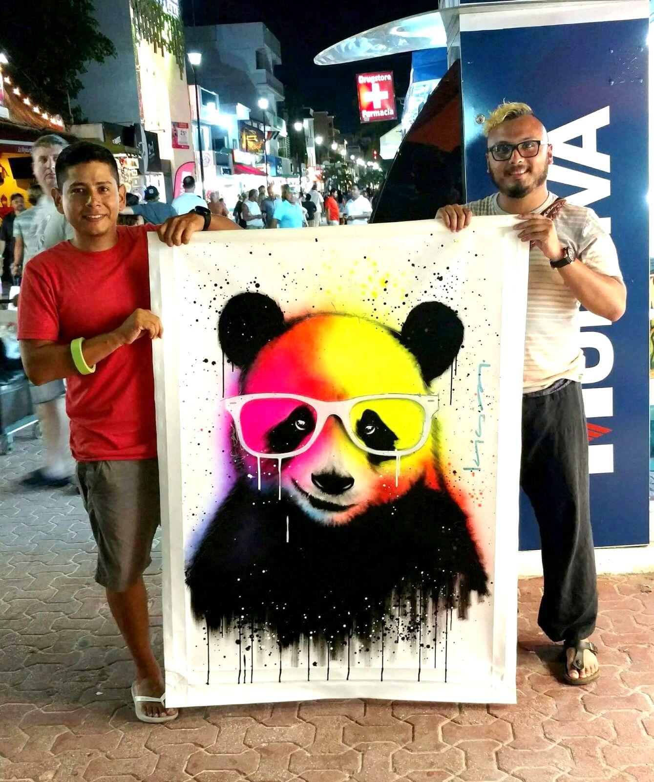 Panda PopArt