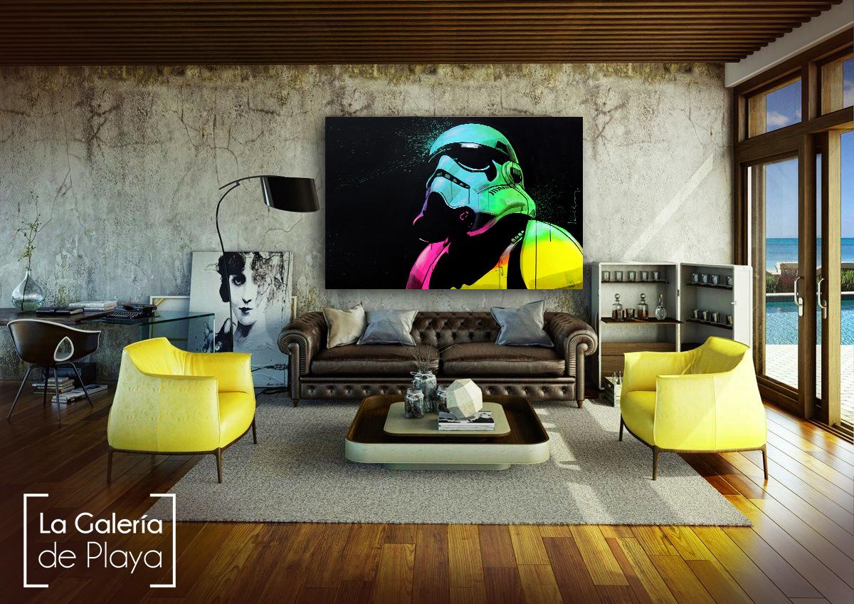 Stormtrooper arte by luis MarLo