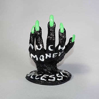 The hand of good luck has been sold but