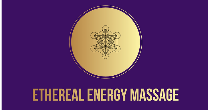 Metatron's Cube/logo for ethereal energy massage