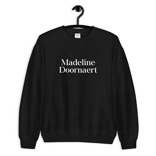 Madeline Doornaert (#007) - Black Unisex Sweatshirt