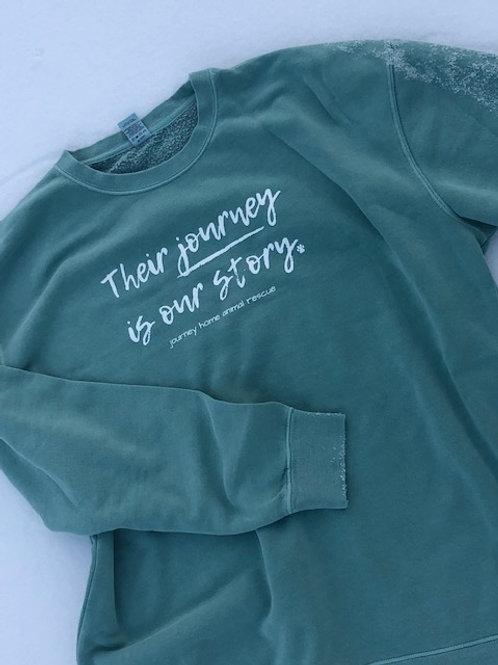 Their Journey - Heavyweight Crew Sweatshirt