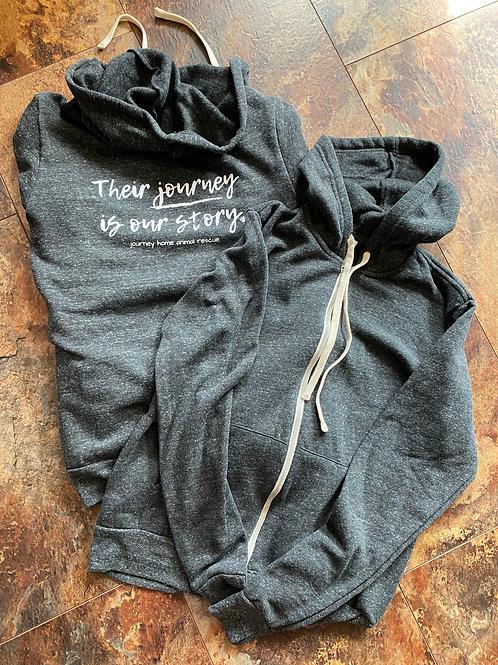 Zip Up Sweatshirt - Their Journey
