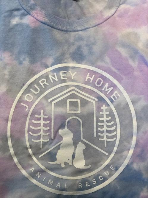 Logo - Purple Tie DyeT-shirt