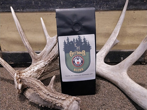 8 Ounce Bag True Life Hunting Adventures Outdoor Blend by Darkshot Coffee
