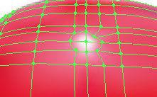 Highlight using gradient mesh tool