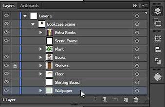 Layers Palette Move Layer Free Adobe Illustrator Tutorial
