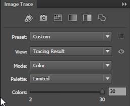 Image Trace Palette Adobe Illustrator Free Tutorial