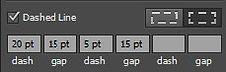 Dashed Line Options Adobe Illustrator