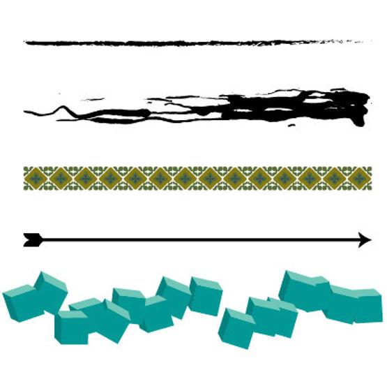 Brush examples Adobe Illustrator Free Tutorial