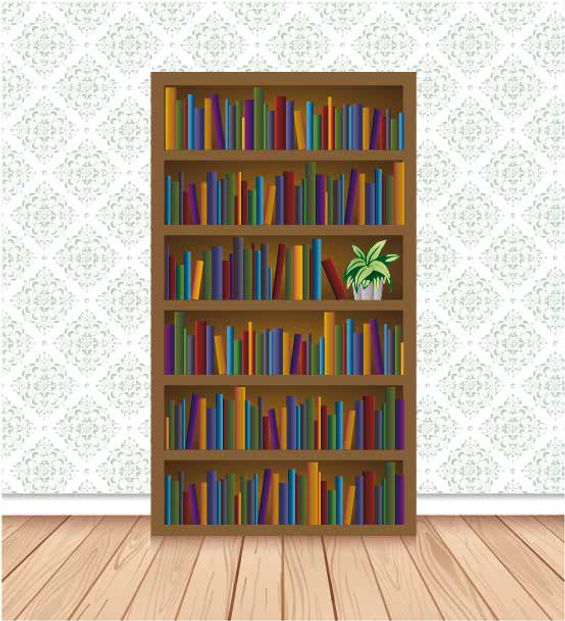 Illustrator Illustration Bookcase Free Adobe Illustrator Tutorial