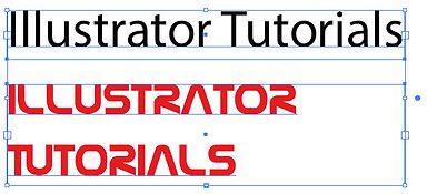 Copying text/type Attributes Free Adobe Illustrator Tutorial