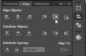 Align Palette Tool Options