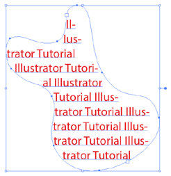 Area Type tool Free Adobe Illustrator Tutorial