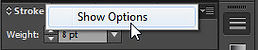 Stroke Palette Show Options Adobe Illustrator