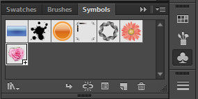 Symbol Palette Adboe Illustrator