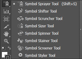 Symbol Tools Adobe Illustrator