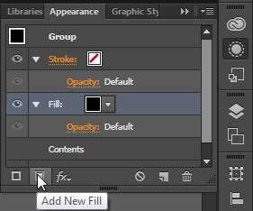 Appearance Palette Change Fill Free Adobe Illustrator Tutorial