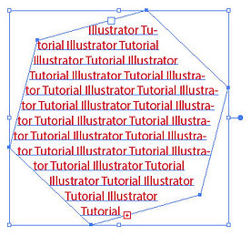 Area type tool example Free Adobe Illustrator Tutorial