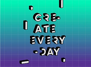 Create Everyday Poster