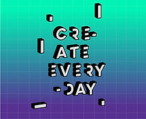 Creare Ogni giorno Poster