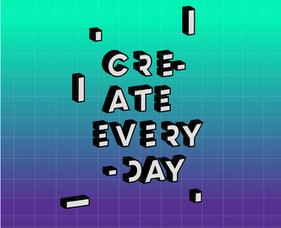 Create Everyday Poster