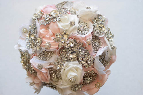 Crystal Flower Bridal Bouquet
